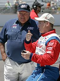 Al Unser jr and A.J. Foyt