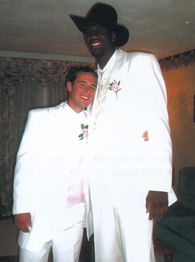 Greg Oden and Travis Smith