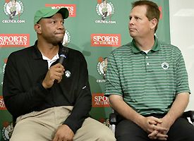 Doc Rivers and Danny Ainge