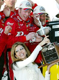 Dale Earnhardt Jr. and Teresa Earnhardt