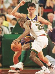 John Stockton and Gary Payton