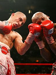 Miguel Cotto and Zab Judah