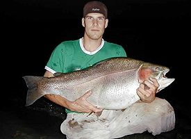 World Record Rainbow Trout