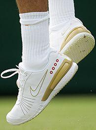 Roger Federer's shoes