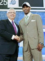 David Stern and Mike Conley Jr.