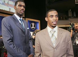 Greg Oden and Mike Conley Jr.