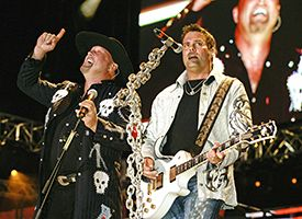 Eddie Montgomery and Troy Gentry were the Country Music Association's