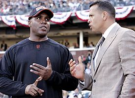 Alex Rodriguez and Barry Bonds