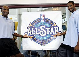New Orleans All-Star logo