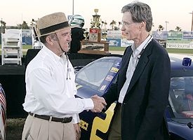 Jack Roush and John Henry