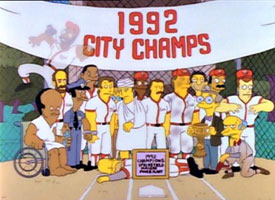 Springfield baseball team