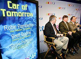 Steve Peterson, Robin Pemberton, Brett Bodine