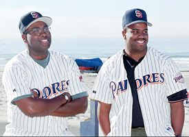 Tony Gwynn and Chris Gwynn