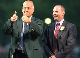 Cal Ripken Jr. and Billy Ripken