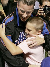 Tom Glavine and son