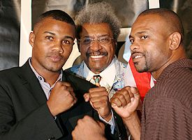 Felix Trinidad, Don King and Roy Jones jr