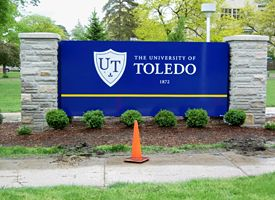 Toledo Campus Sign