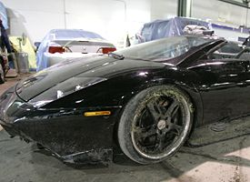 Lance Briggs' car