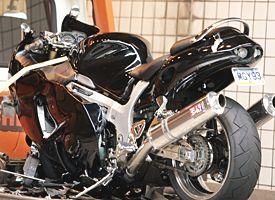 Ben Roethlisberger's motorcycle