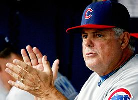 Chicago Cubs manager Lou Piniella