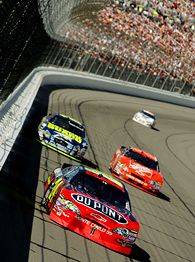 Jeff Gordon, Greg Biffle, Tony Stewart