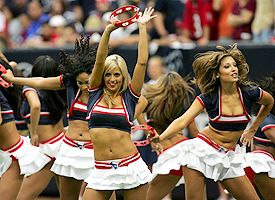Texans cheerleaders