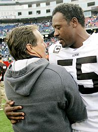 Bill Belichick and Willie McGinest