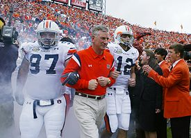 Tommy Tuberville, Josh Thompson and Brandon Cox