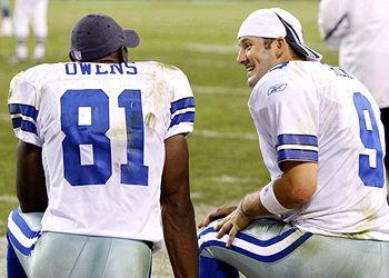 Terrell Owens & Tony Romo