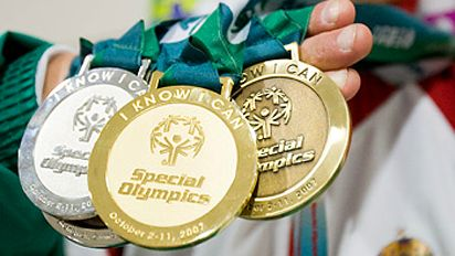 Special Olympics Medals