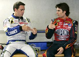 Jimmie Johnson & Jeff Gordon