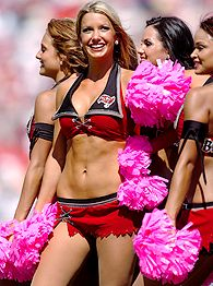 Buccaneers cheerleader