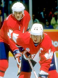Gretzky and Lemieux