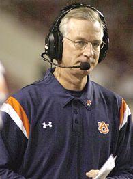 Auburn coach Tommy Tuberville