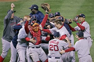 Red Sox celebration