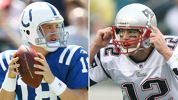 Peyton Manning and Tom Brady
