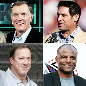 Bob Griese, Steve Young, Jim Kelley and Warren Moon
