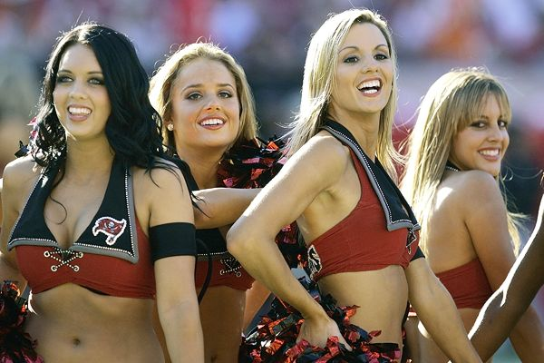 Tampa Bay Buccaneers' cheerleaders