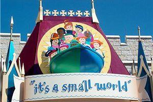 Small World ride at Disney World