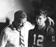 Bear Bryant and Joe Namath