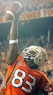 Sinorice Moss vs. Florida State in 2004