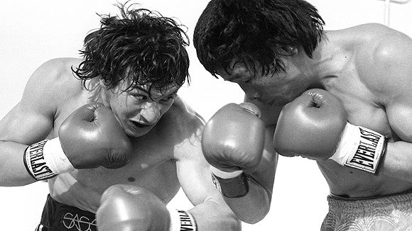 Ray Mancini and Deuk Koo Kim