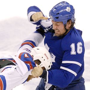 Darcy Tucker and Sean Avery
