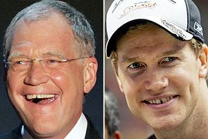 Letterman  and Pronger