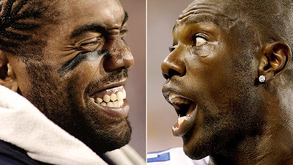 Randy Moss and Terrell Owens