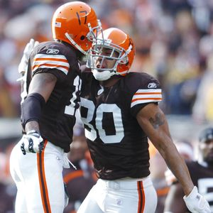 Braylon Edwards and Kellen Winslow