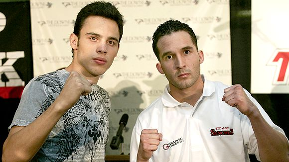 Julio Cesar Chavez Jr. and Ray Sanchez