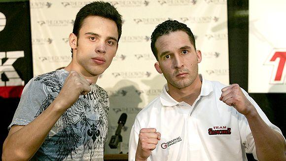 Julio Cesar Chavez Jr. and Ray Sanchez