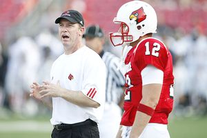 Brian and Jeff Brohm