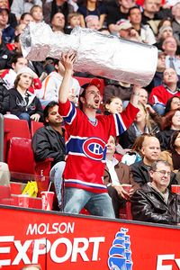 A Montreal Canadiens fan